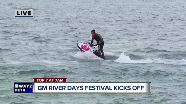 GM River Days festival kicks off