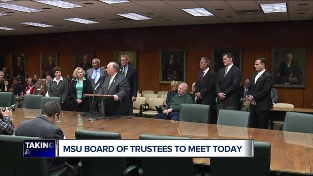 MSU Board of Trustees to meet amid calls for Interim President John…