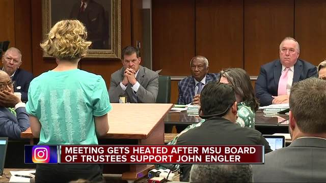 MSU Board of Trustees votes to approve -500M settlement for Nassar survivors