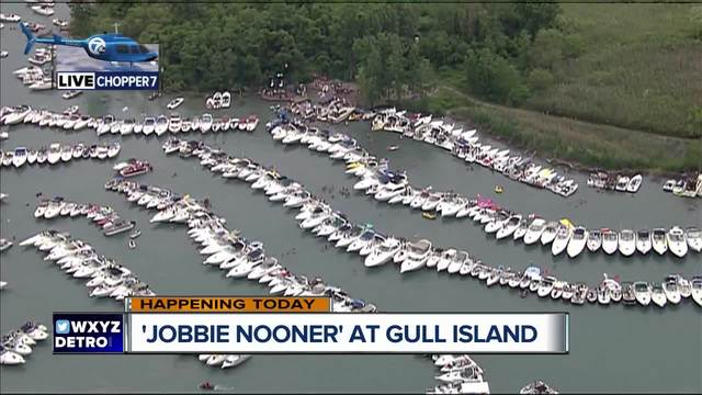 Thousands expected at Michigan-s Jobbie Nooner party on Gull Island