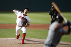 Bauer strikes out 11 as Indians defeat Tigers