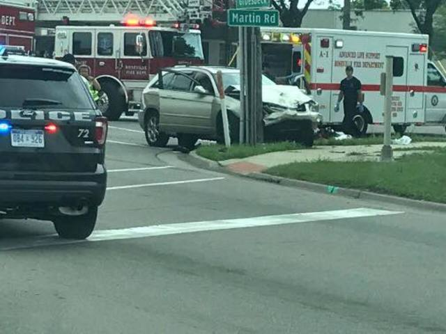 Roseville Road Car Accident