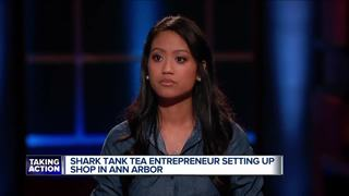 Tea shop in Ann Arbor after 'Shark Tank' rejects