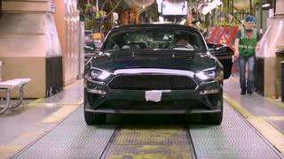 First 2019 Mustang Bullitt rolls off the line
