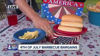 Fourth of July bargins for a fun cookout