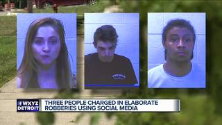 3 charged in elaborate robberies using Snapchat