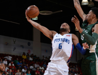 Pistons sign second-round pick Bruce Brown Jr.