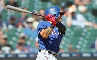 Choo extends streak as Rangers blank Tigers