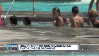 Spot the non-obvious signs a child is drowning