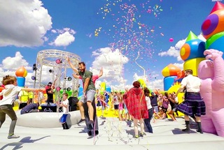 World's largest bounce house returns