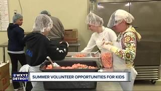 Summer volunteer opportunities for kids