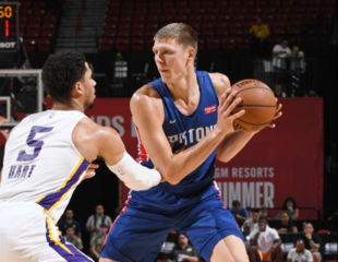 Pistons lose to Lakers in Summer League quarters