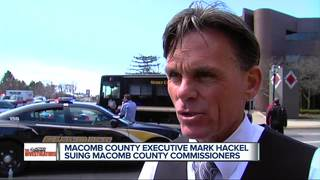 Macomb County Exec., Commission sue each other
