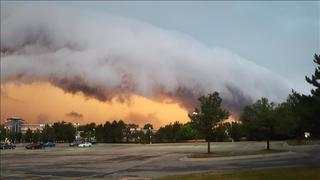 Photos: Storms over metro Detroit on Monday