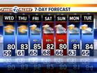 FORECAST: Low 80s this week
