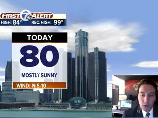FORECAST: Warm and sunny before weekend rain