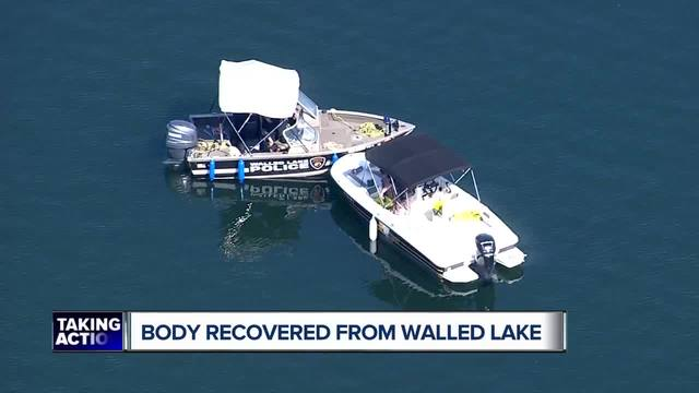 Police recover body from Walled Lake