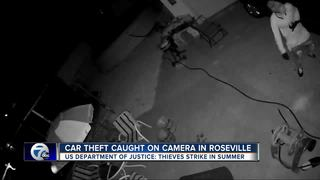 Woman caught on camera stealing from home