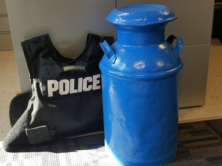 Antique milk jug returned to owners