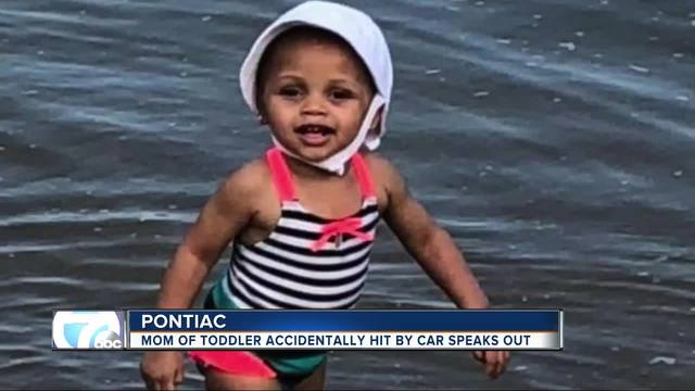 Toddler's mother talks about driveway tragedy