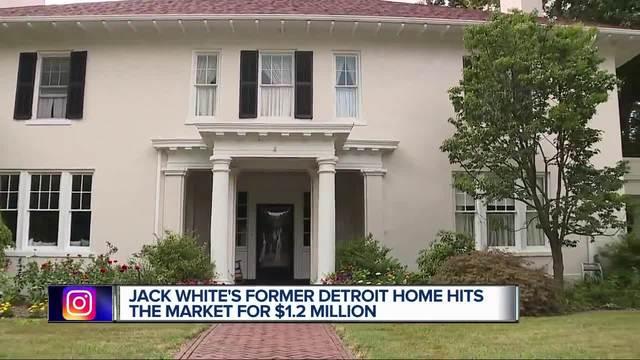 Jack Whiteu0027s Former Home In Detroitu0027s Indian Village For Sale For $1.2  Million