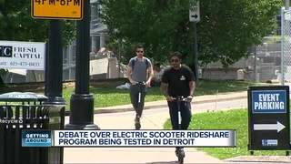 Scooters arrive in Detroit with less outrage