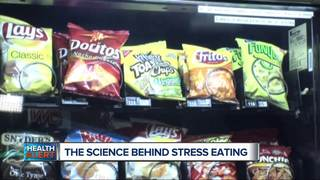 Why you stress eat and how to stop doing it