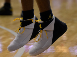 Michigan wants to know if athletes sold shoes