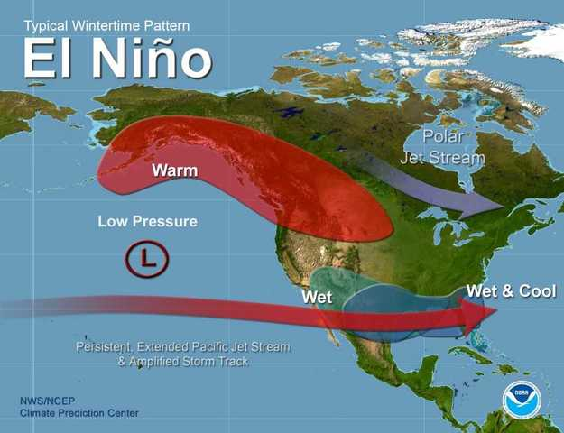 The Odds Of An El Ni 241 O Winter Is Growing Stronger