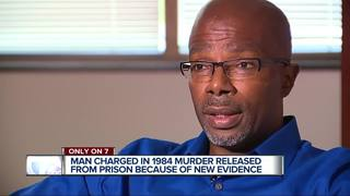 Detroit man released for murder he didn't commit