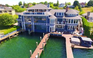 Own a massive boathouse in Charlevoix for $6.8M