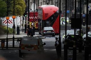 Police treat London crash as terrorist incident