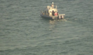 Search for swimmer in Lake St. Clair