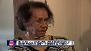 87-year-old victim talks about mugging