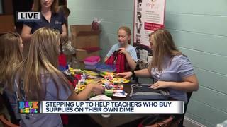 Church helping teachers with school supplies