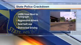 MSP enforcing crackdown on I-696
