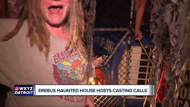 Erebus Haunted Attraction hiring -scare actors- for upcoming season