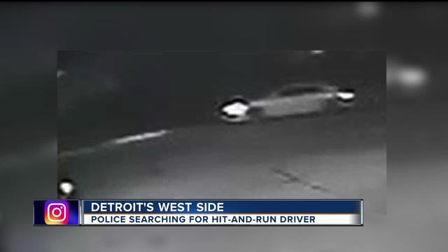 Suspect wanted in connection to fatal hit-and-run on Detroit-s west side