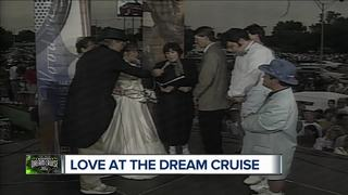 First, only couple married at the Dream Cruise