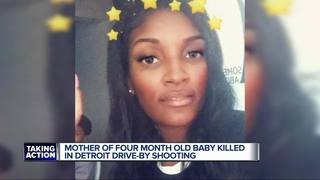 Family asks for peace after baby's mother killed