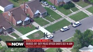 Off-duty DPD officer accidentally shoots herself