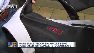 Bulletproof backpacks and school threats