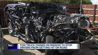 Towing company owner makes safety his mission