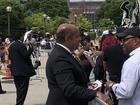 Swanson II license revoked, works Aretha funeral