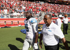 Lions RB Blount fined for actions vs. 49ers