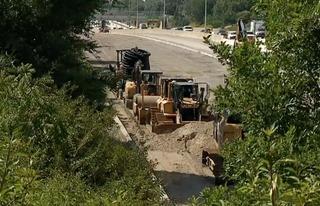 'Positive step forward' in road-building dispute
