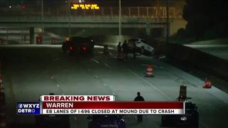EB I-696 at Mound back open in Warren