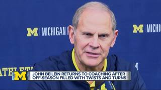 Beilein back on the bench, excited for season