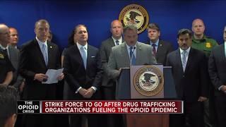 'Strike force' targets drug traffickers