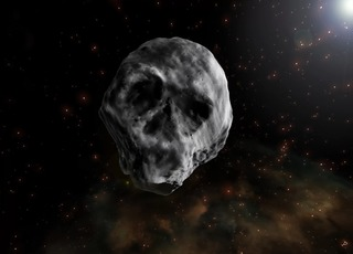 Skull-shaped asteroid to fly by Earth again